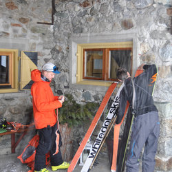 Start an der Amberger Hütte