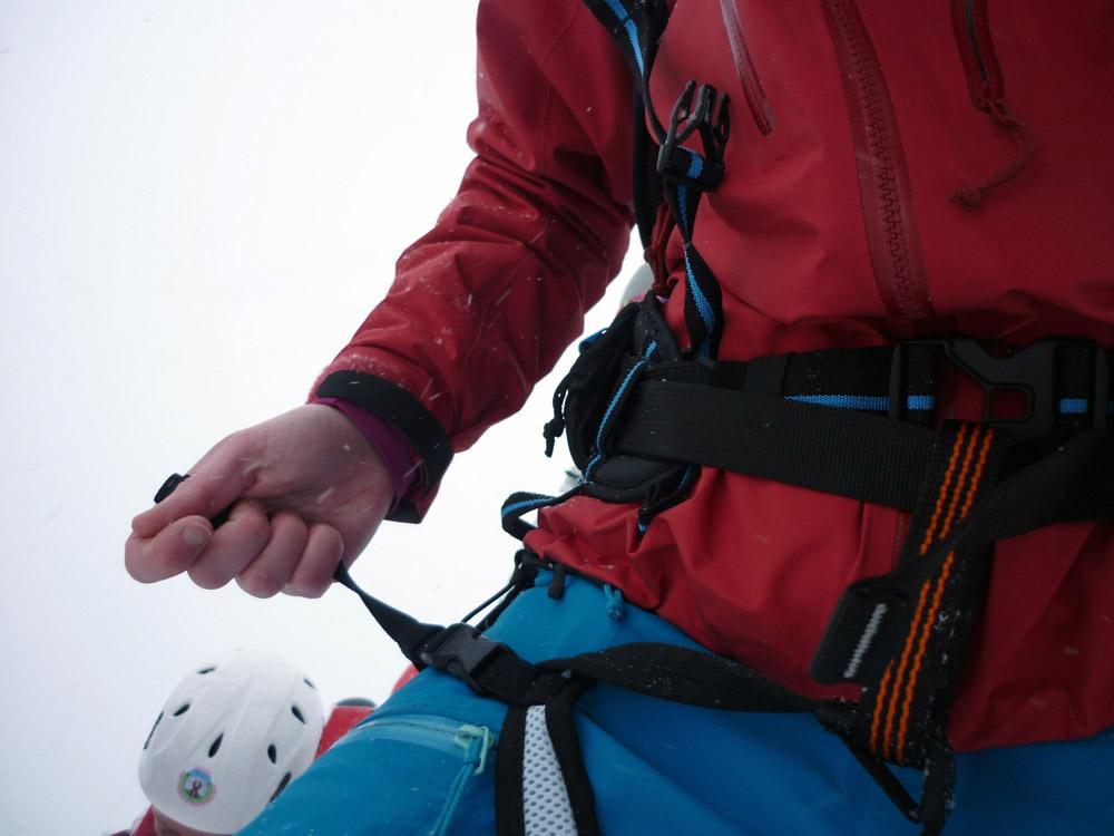 Klettergurt Mit Rucksack : Produkttest skylotec rucksack klettergurt powderguide