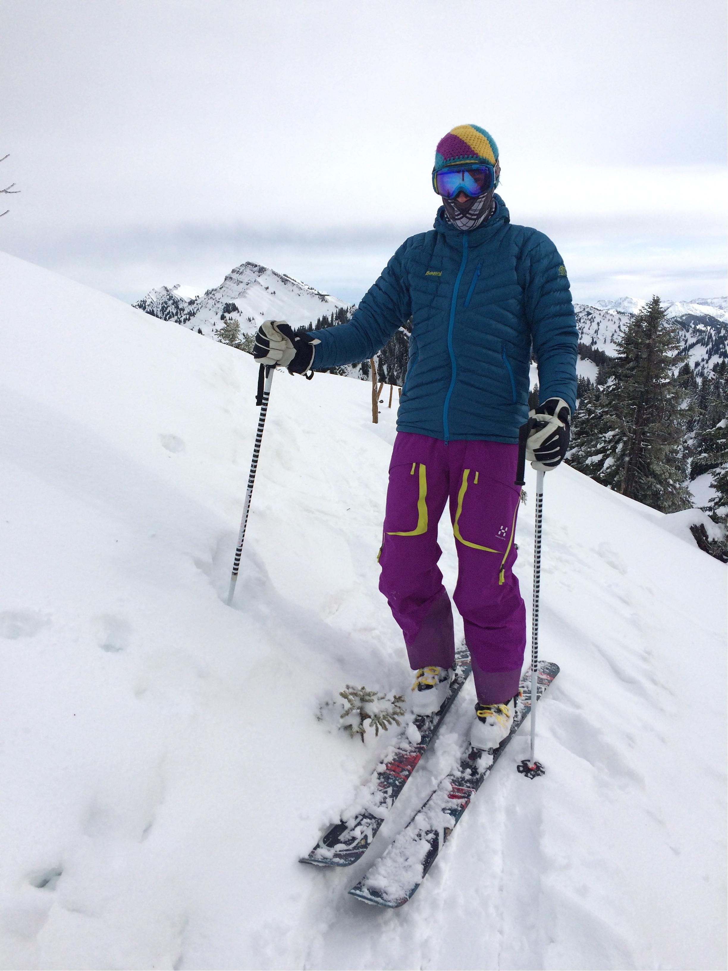 daunenjacke skifahren