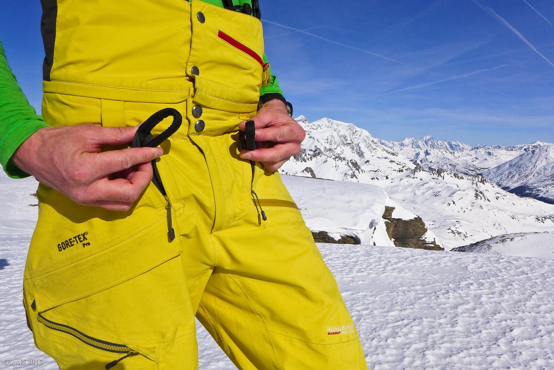 Mammut Klettergurt Hose : Materialtest mammut alyeska gtx pro l realization pants
